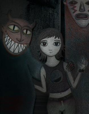 L' âme Perdue Dans L'obscurité