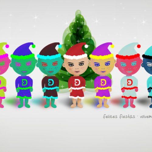Felices Fiestas, Nos Vemos En Enero