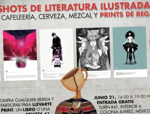 Café Y Shots De Literatura Ilustrada En La Juárez
